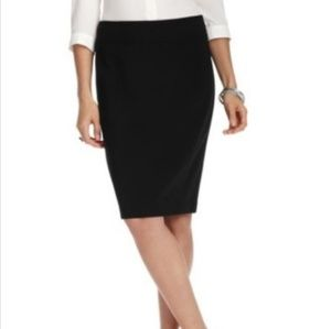 NWT Ann Taylor LOFT Black Pencil Skirt Size 14